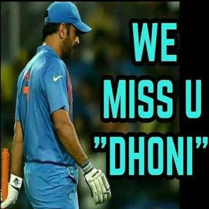 Miss You Dhoni